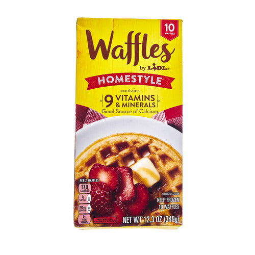 Lidl frozen homestyle waffles