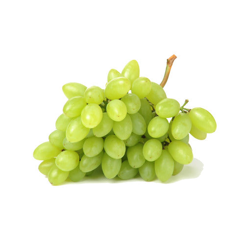 green seedless grapes, bag