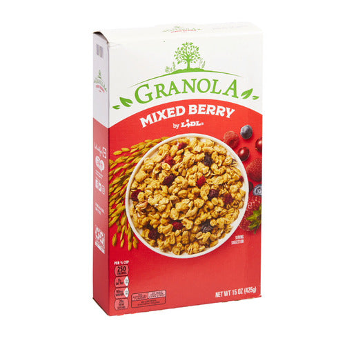 Lidl mixed berry granola