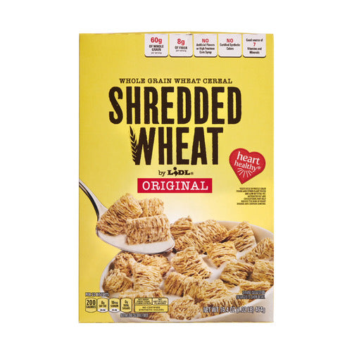 Lidl shredded wheat cereal