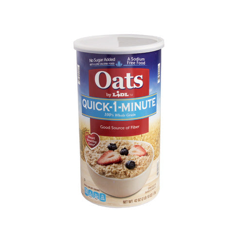 Lidl quick-1-minute oats
