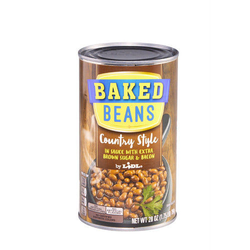 Lidl country style baked beans