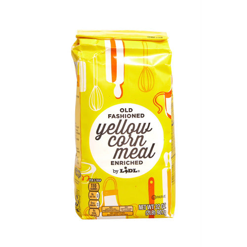 Lidl old fashioned yellow corn meal