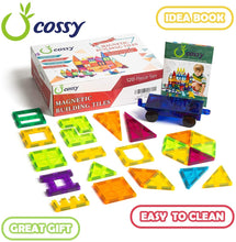 Load image into Gallery viewer, Cossy® Magnetic Building Tiles 120-Piece Set