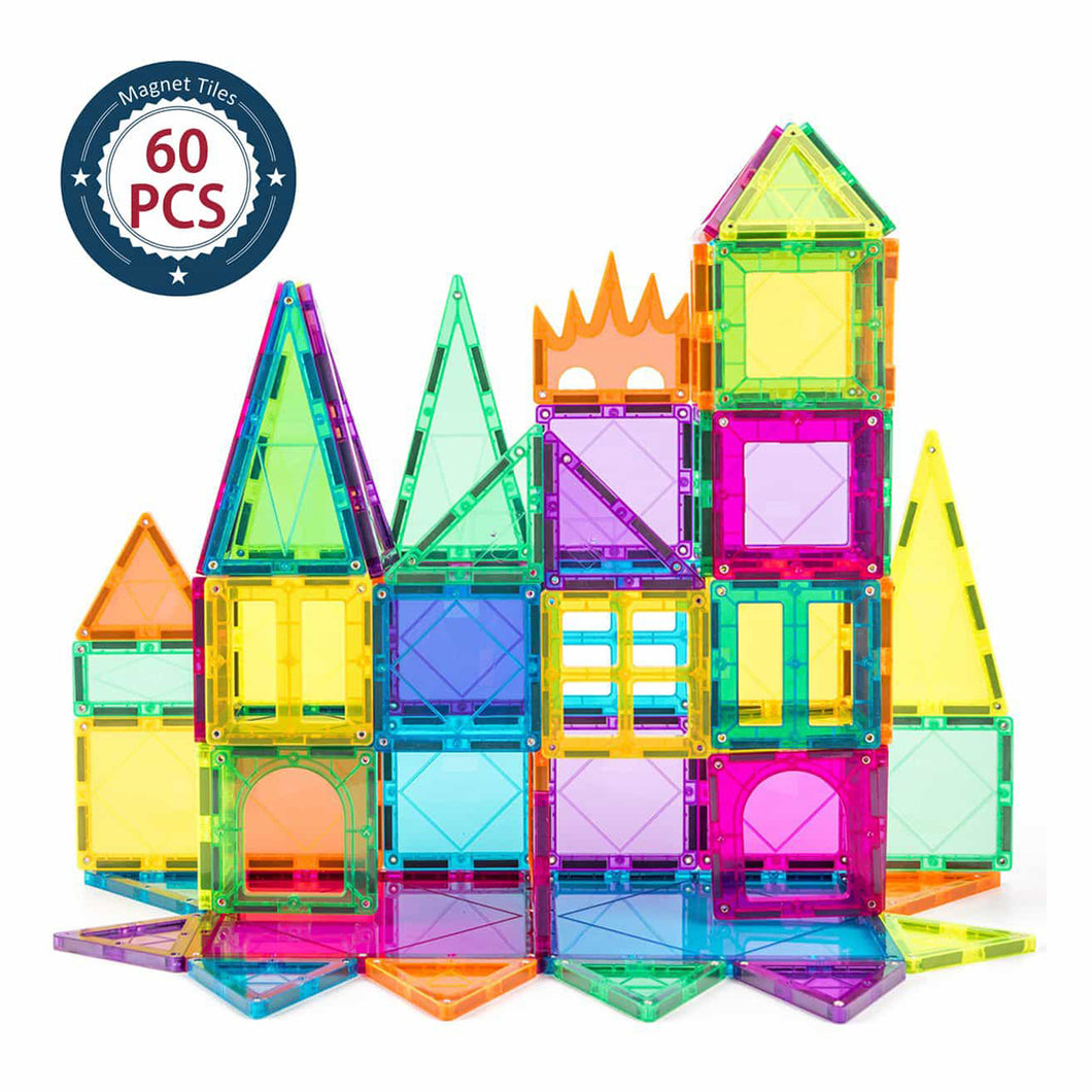 Cossy® Magnetic Building Tiles 60-Piece Set