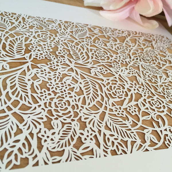 Laser Cut Paper by the Sheets