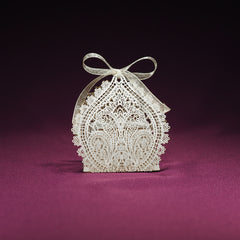 Chantilly Lace Wedding Favor Box