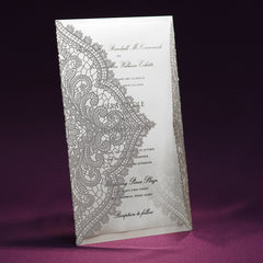 Chantilly Lace Wedding Invitation