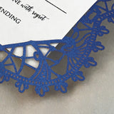 Bohemian Lace  Response / Accessory Card (A2) Sample