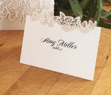 Butterflies Place Card / Escort Card