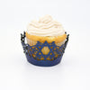 Star of David Cupcake Wrapper - (Standard & Mini Sizes)