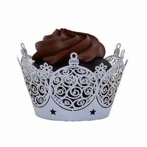 Ornaments Cupcake Wrapper - (Standard Size)