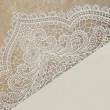Chantilly Lace Gatefold Invitation (A7) Sample