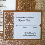 Italian Ornate Response Card / Accessory Card (A2) Sample