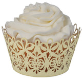 Lavish Cupcake Wrapper - (Standard, Mini, & Jumbo Sizes)