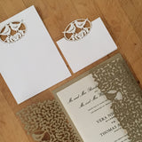 Perfect Pair Gatefold Invitation (A9)