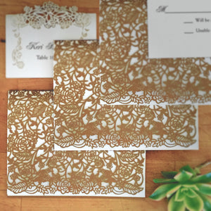 Rose Vine Folded Card (A2)