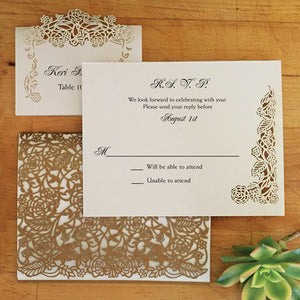 Rose Vine Response Card / Accessory Card (A2)