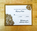 Roses Response Card / Accessory Card (A2)