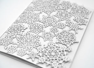 Snowflake Folded Card (A7)