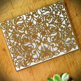 Spring Vines Folded Card (A2)