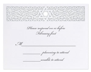 Star of David Response Card / Accessory Card (A2)