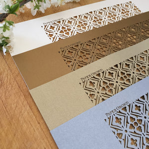 Tuscan Laser Cut Sheets