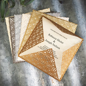 Tuscan Square Invitation