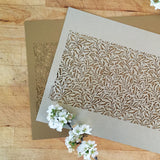 Willow Laser Cut Sheet