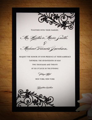 Romantica Flat Invitation (A9)