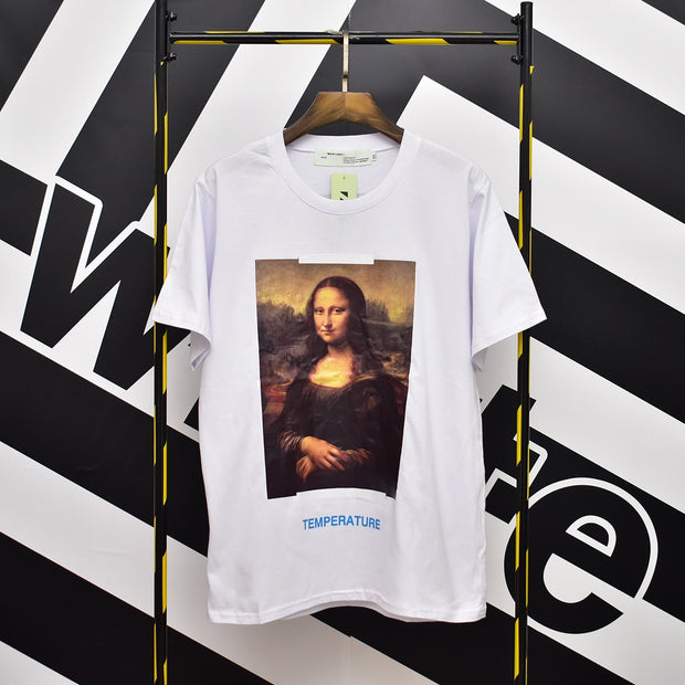 "Off-White Mona Lisa ""Temperature"" T-Shirt"