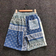 Flower Bandana Shorts