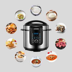 aicook pressure cooker, 18-in-1 electric pressure cooker, safety