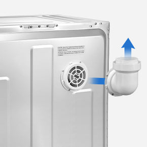 aicook, laundry dryer, compact, stainless steel, efficient drying, smart, easy to carry, wide guide accessories