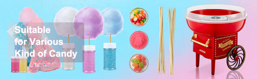 aicok, aicook, cotton candy, suitable for various kind of candy