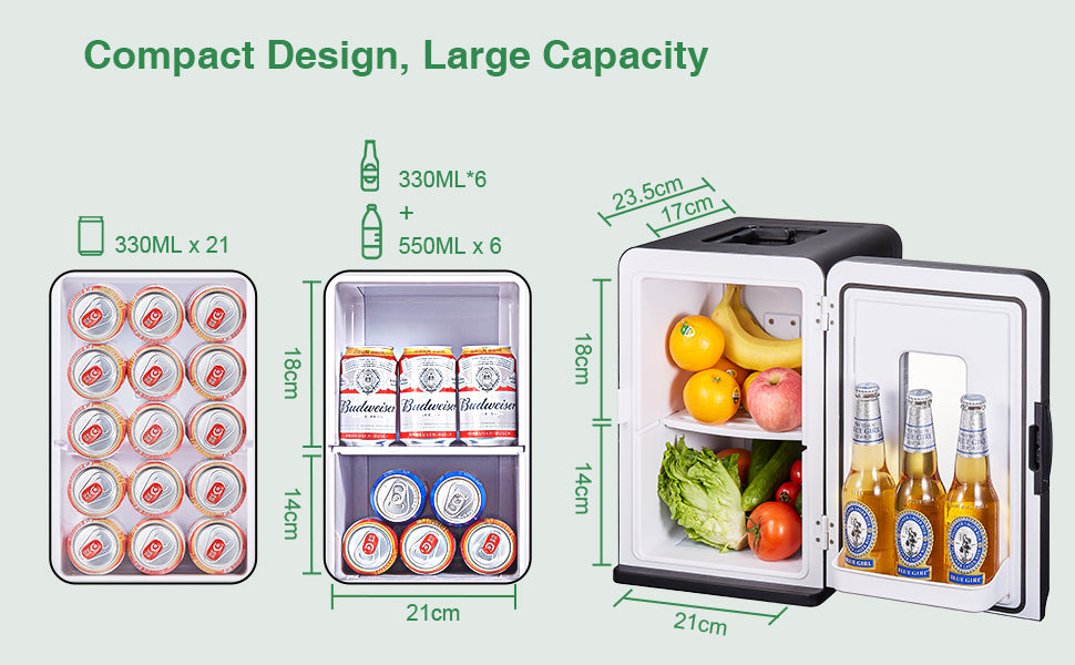 Compact Design, Large Capacity