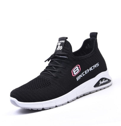 Ladies Sports Black Shoes