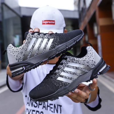 Men Sneakers Lace Up Shoes