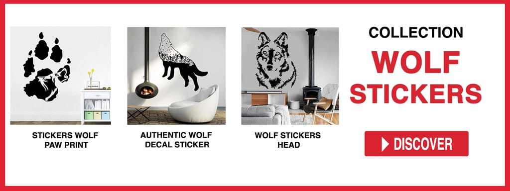 WOLF STICKERS COLLECTION