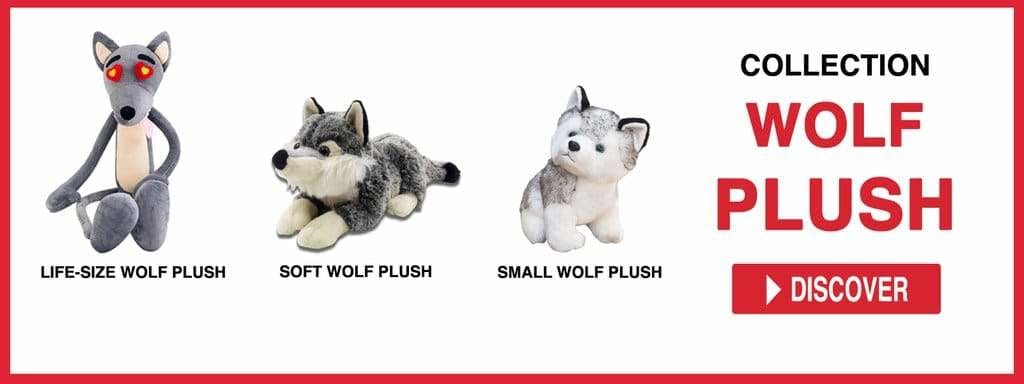 WOLF PLUSH TOY COLLECTION