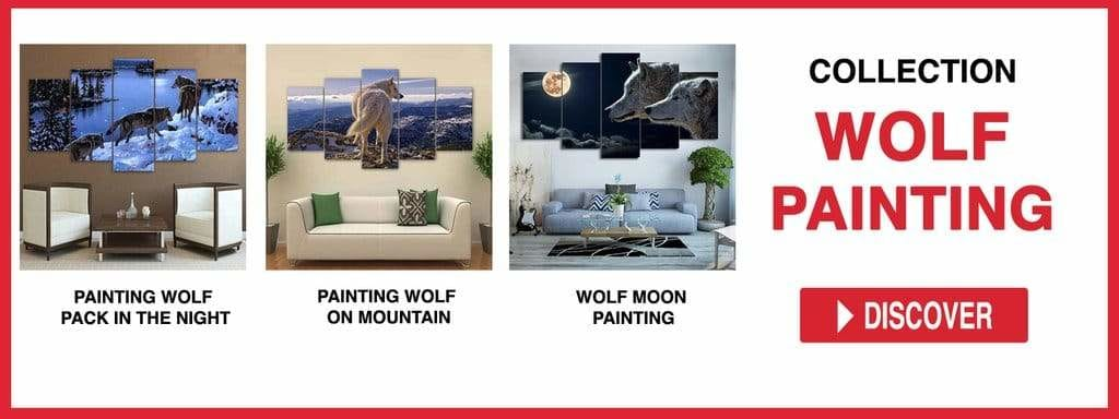 WOLF PAINTING COLLECTION