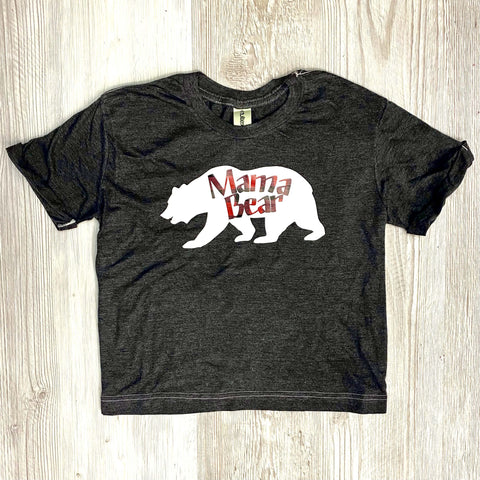 Mama Bear Retro Cutoff Tee