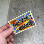 Retro Hampton Beach Sticker