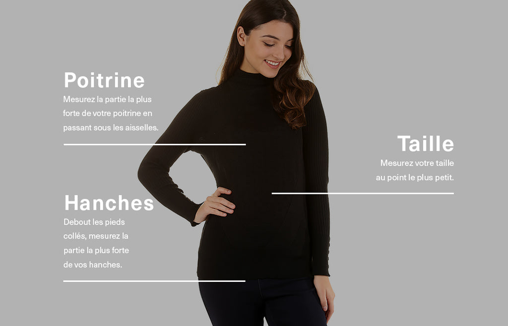 Guide taille - Hauts