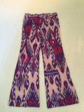 The Wyatt Pants in Indian Blue Ikat