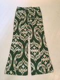 The Wyatt Pants in Green Eyes Ikat