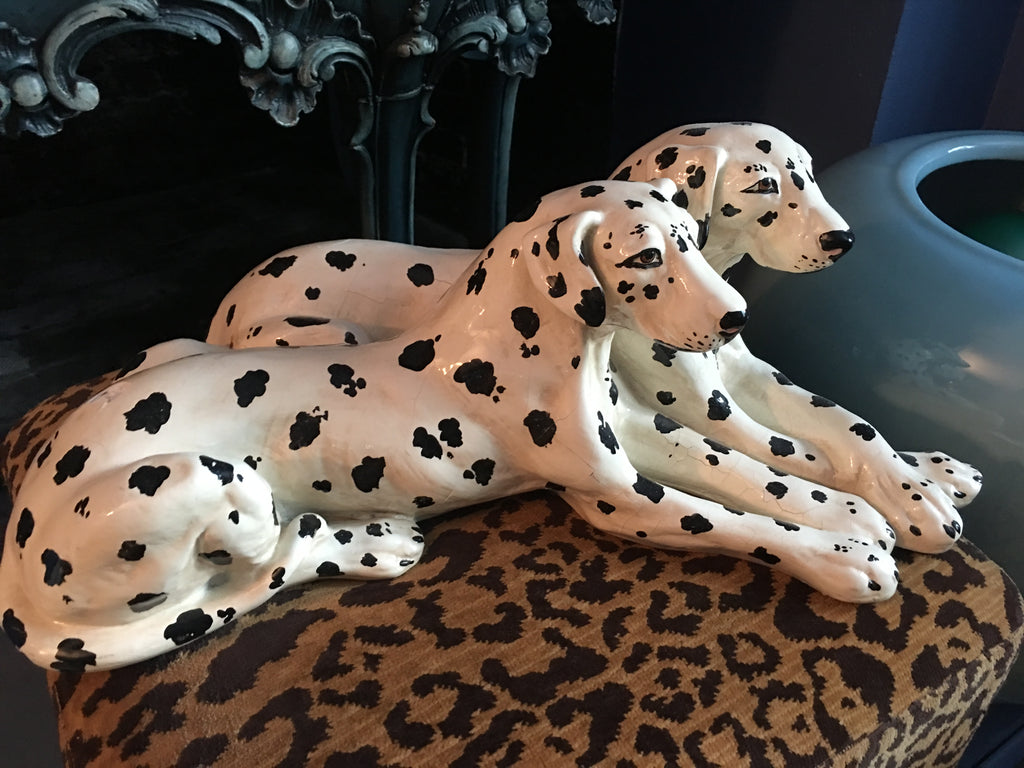 Ceramic Dalmation Dogs