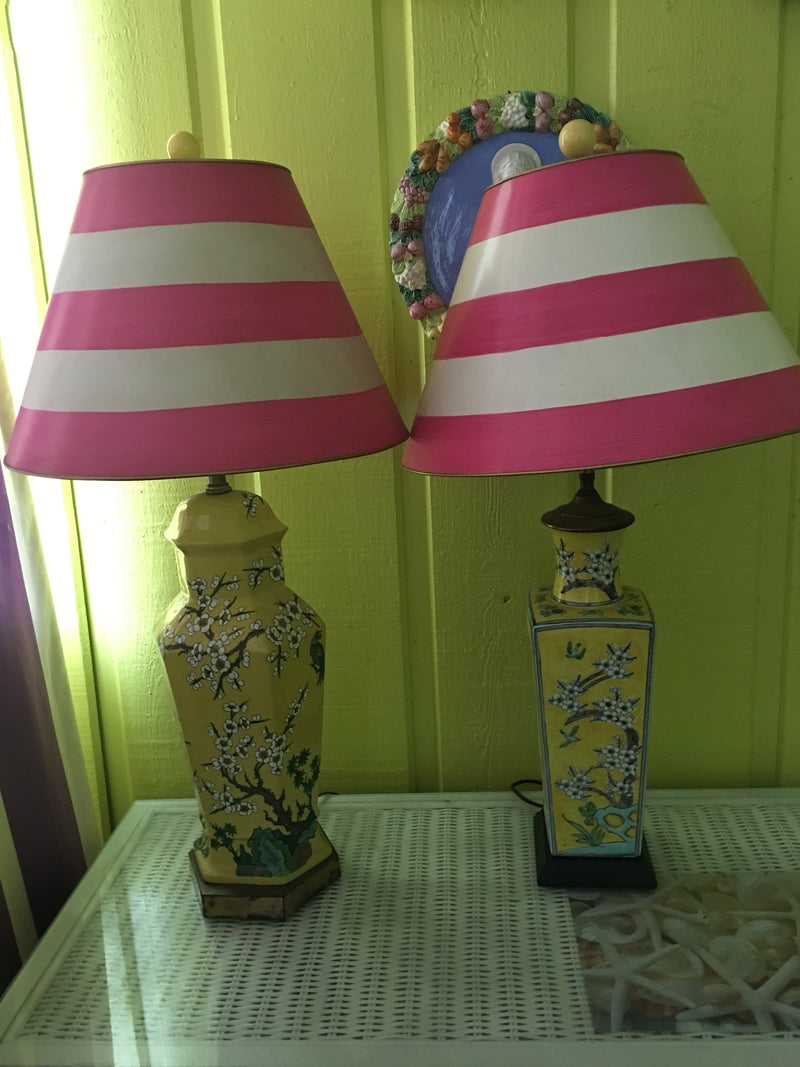 Pair of Chinoiserie Lamps