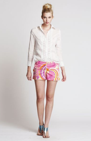 The Hunter Shorts in Jeweled Pink ~ Only 1 left !