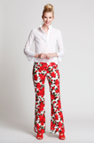 The Isabel Pants in 50's Rose